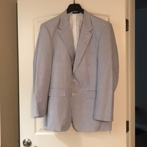 46L Searsucker Sports Coat